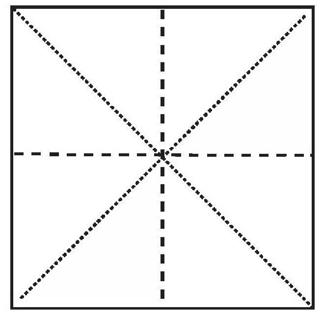 蝙蝠折纸教程(步骤图解——简单易做)插图(1)