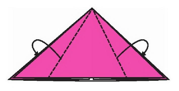 蝙蝠折纸教程(步骤图解——简单易做)插图(2)