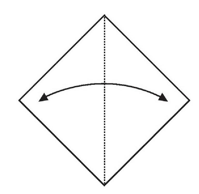大耳鼠折纸教程(步骤图解——简单易做)插图(1)