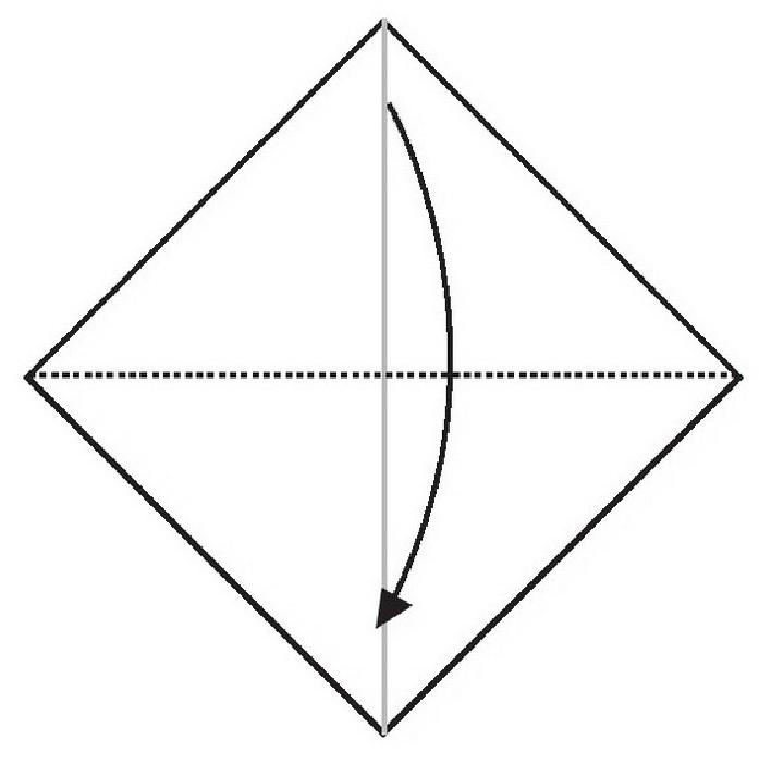大耳鼠折纸教程(步骤图解——简单易做)插图(2)
