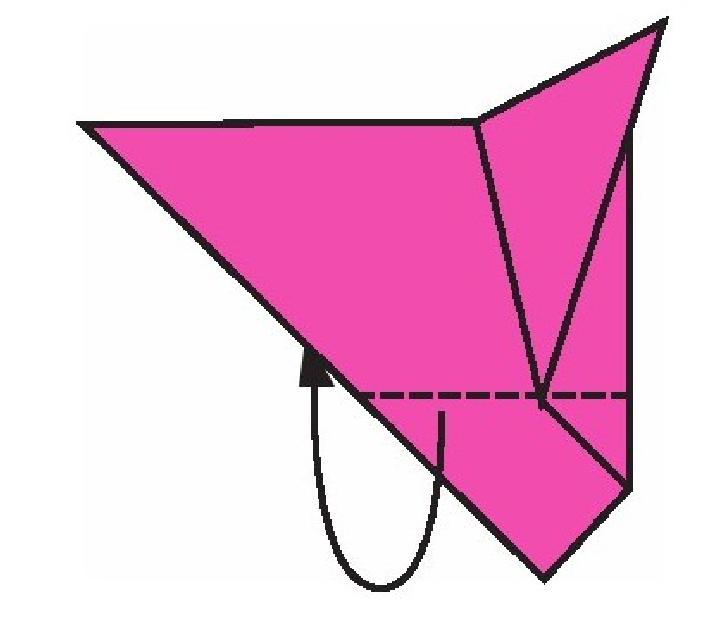 大耳鼠折纸教程(步骤图解——简单易做)插图(5)