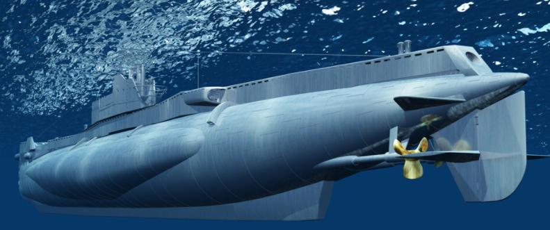 为什么潜水艇能潜到水下呢?(潜水艇的工作原理)插图(3)