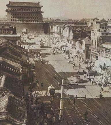 """北京的前门大街是明清时期最繁华的商业街,有人说前门曾经是""""纸糊的"""",这是真的吗?(前门大街历史文化)插图(2)"""