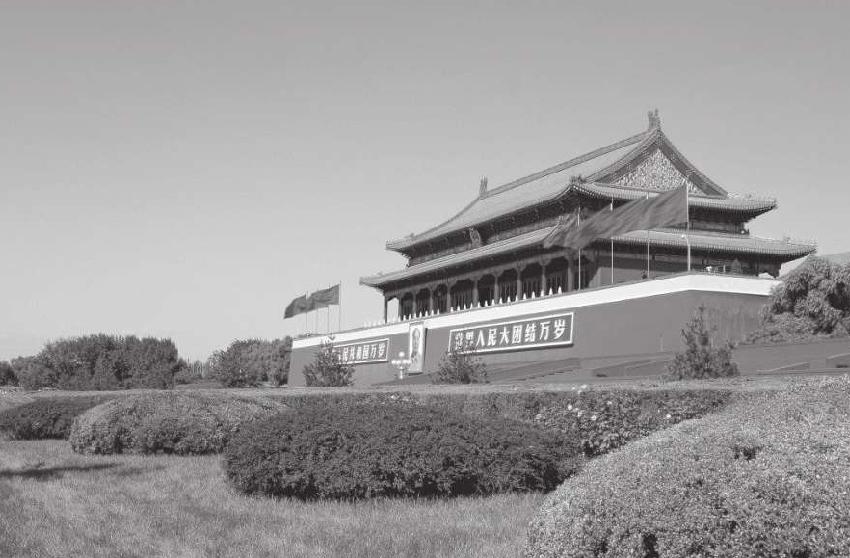 祖国的标志性建筑天安门曾经是一座木牌楼吗?插图