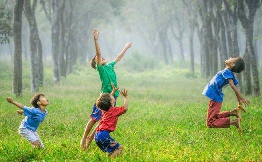 玩耍嬉戏对孩子的成长充满好处 为什么人类只想玩乐