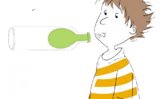 空气小实验:吹不大的气球【气压实验】
