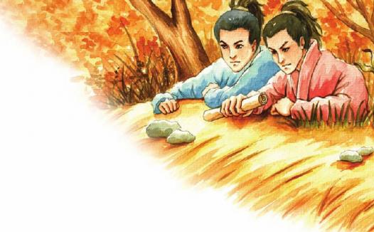 中国名人故事:足智多谋的范仲淹