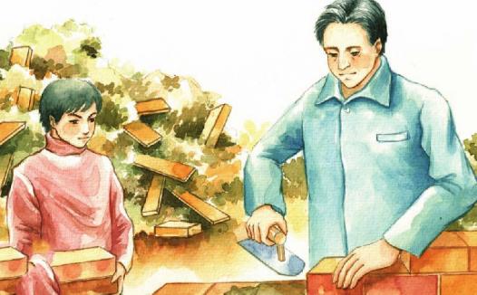 中国名人故事:捡砖添瓦的俞敏洪