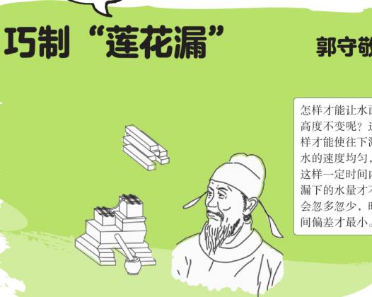 """中国名人故事:郭守敬巧制""""莲花漏"""""""