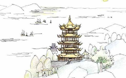 古诗词与地理:故人西辞黄鹤楼——李白登临的黄鹤楼和我们今天见到的黄鹤楼是同一座吗?