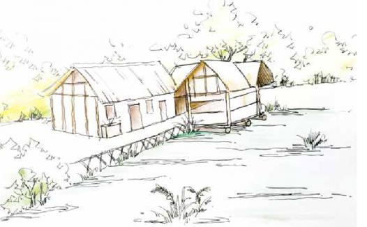 古诗词与地理:江畔独步寻花——浣花溪旁的杜甫草堂是用茅草盖成的吗?
